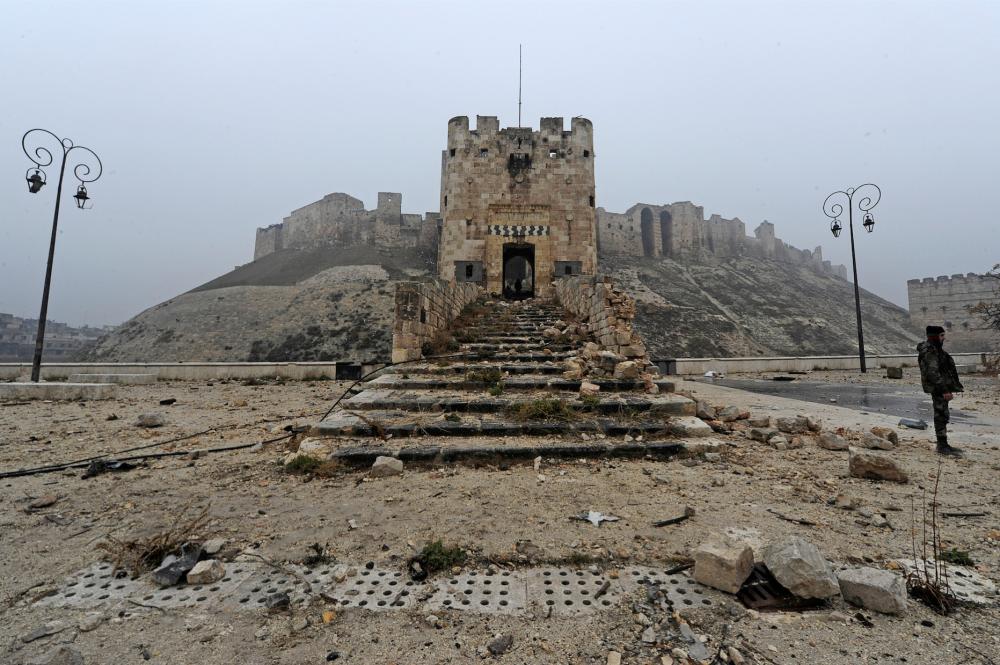 Halep Kalesi  Ağustos 2010  Aralık 2016.
