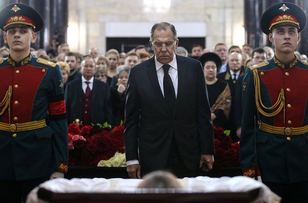 Rusya Dışişleri Bakanı Sergey Lavrov- Andrey Karlov