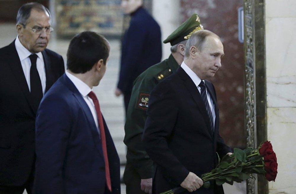 Vladimir Putin - Andrey Karlov cenaze