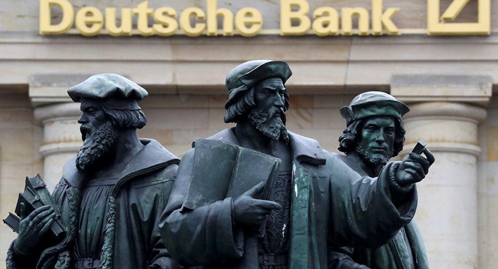 Deutsche Bank'ın Frankfurt'daki merkezi