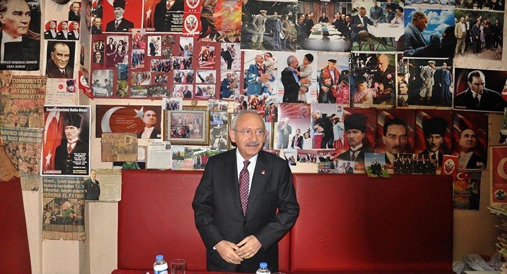CHP Genel Başkanı Kemal Kılıçdaroğlu, Uşak'ta