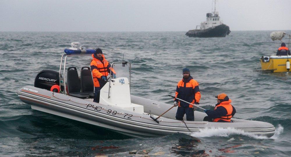 TU-154 uçağının enkazını arama çalışmaları sürüyor