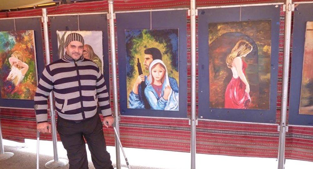 Suriyeli ressam Şadi Süleyman ve eserleri