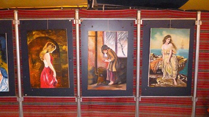 Suriyeli ressam Şadi Süleyman'ın eserleri