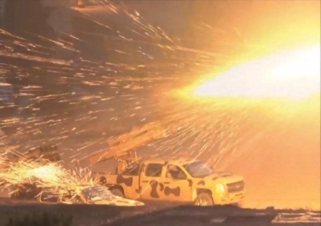 Suriye ordusu, Şam'ın doğusunda cihatçılara karşı ilerleyişini sürdürüyor