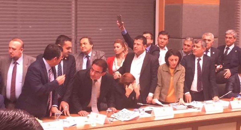 Anayasa Komisyonu - kavga