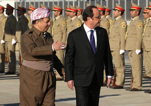 François Hollande - Mesud Barzani