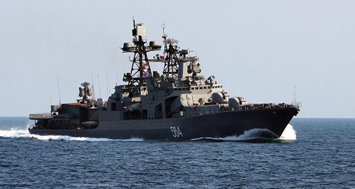 Rus destroyeri Amiral Tributs