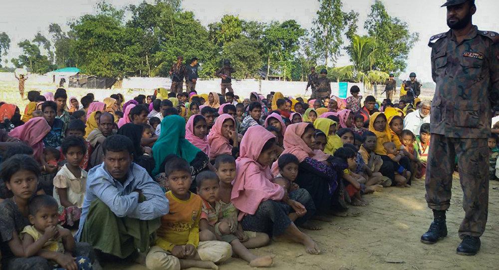 Bangladeş'e sığınan Arakanlı Müslümanlar