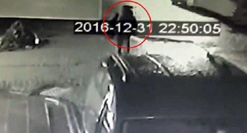 Reina saldırganının Zeytinburnu'ndan Ortaköy'e gidiş anı güvenlik görüntüsü