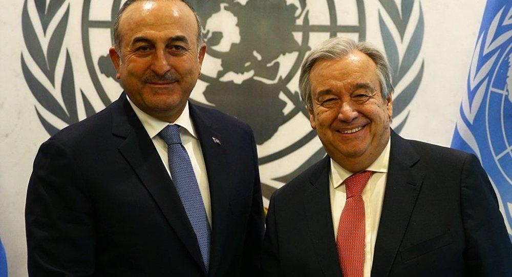 Mevlüt Çavuşoğlu - Antonio Guterres