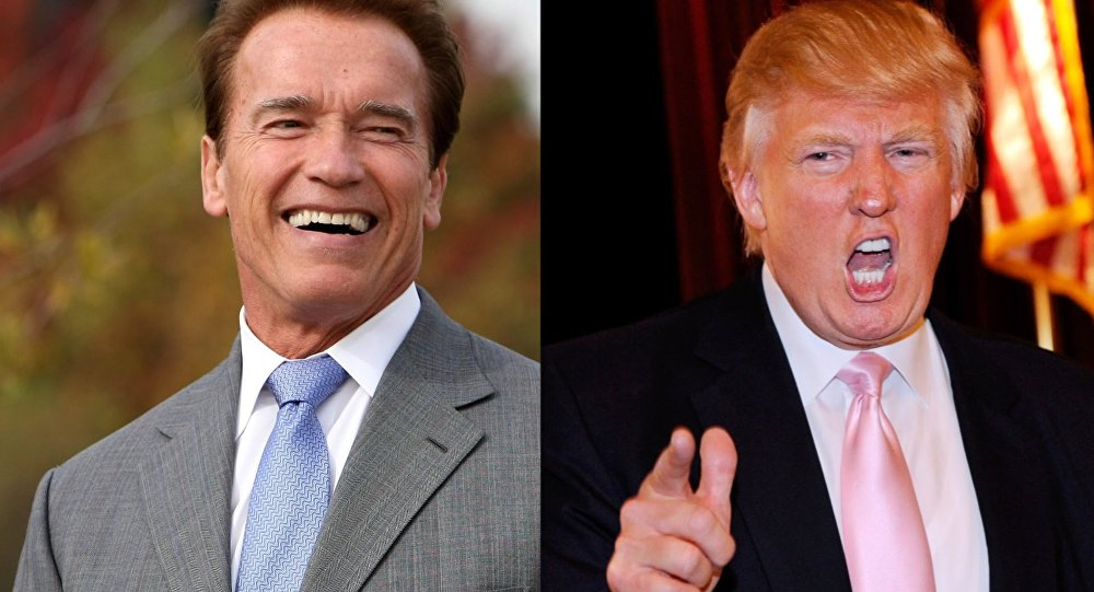 Arnold Schwarzenegger ve Donald Trump