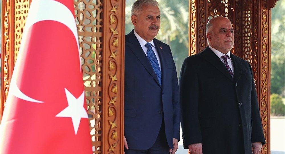 Başbakan Binali Yıldırım - Irak Başbakanı Haydar el İbadi