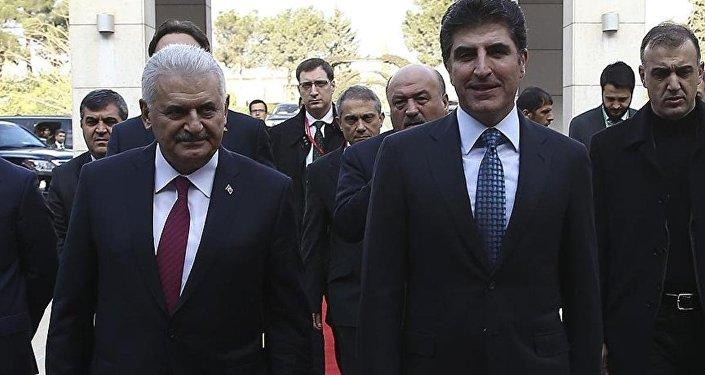Başbakan Binali Yıldırım- IKBY Başbakanı Neçirvan Barzani
