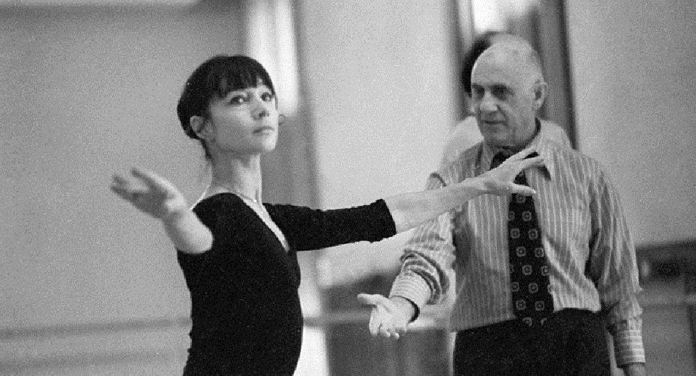 Rus bale sanatçısı Asaf Messerer