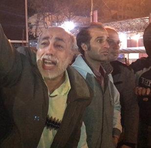 İran halkı  Rafsancani'nin ölüm haberi üzerine Tahran sokaklarına döküldü