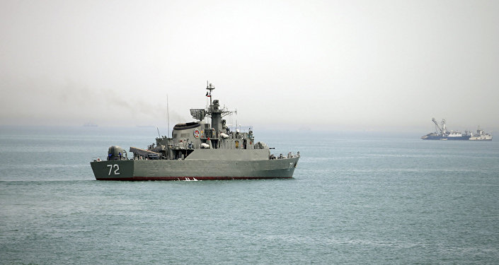 Hürmüz Boğazı / İran donanmasına ait Alborz