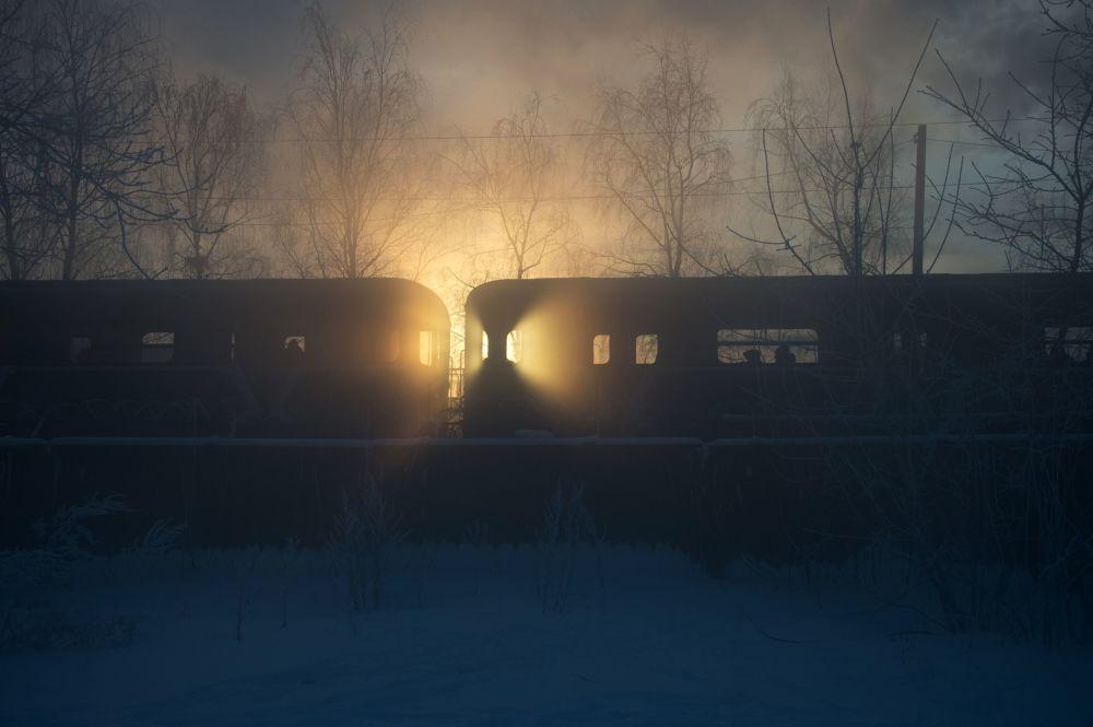 Moskovalılar kışın en soğuk günlerini yaşadı