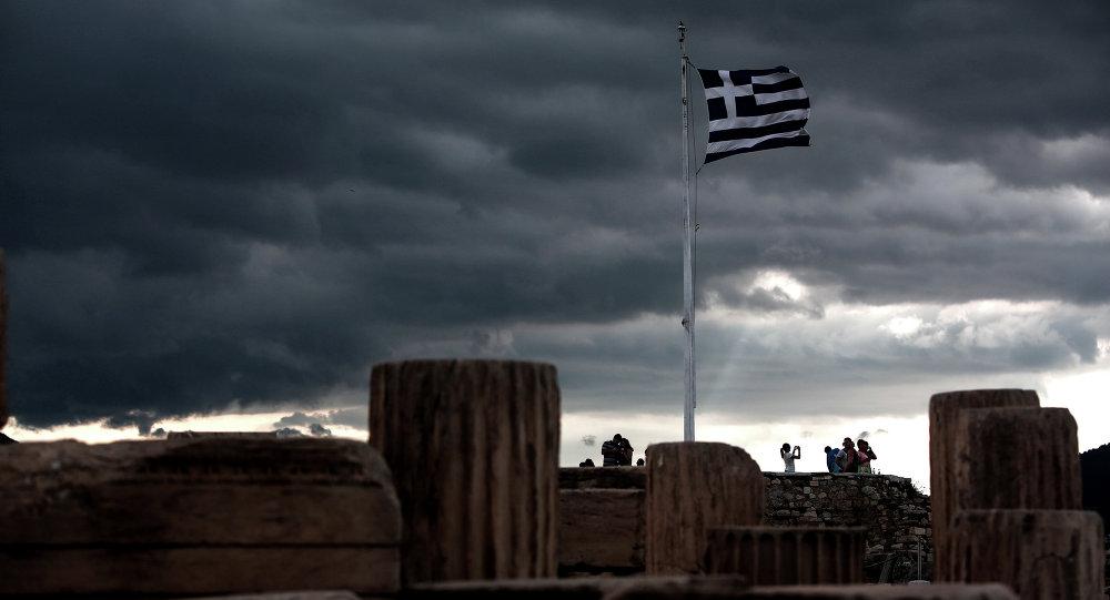 Yunanistan'ın başkenti Atina'daki Akropolis