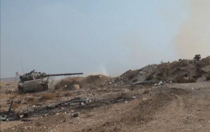 Suriye ordusu Wadi Barada'da teröristleri vurdu
