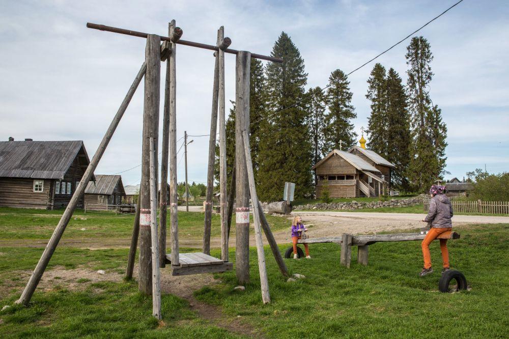 Rusya'nın en güzel köyü Kinerma