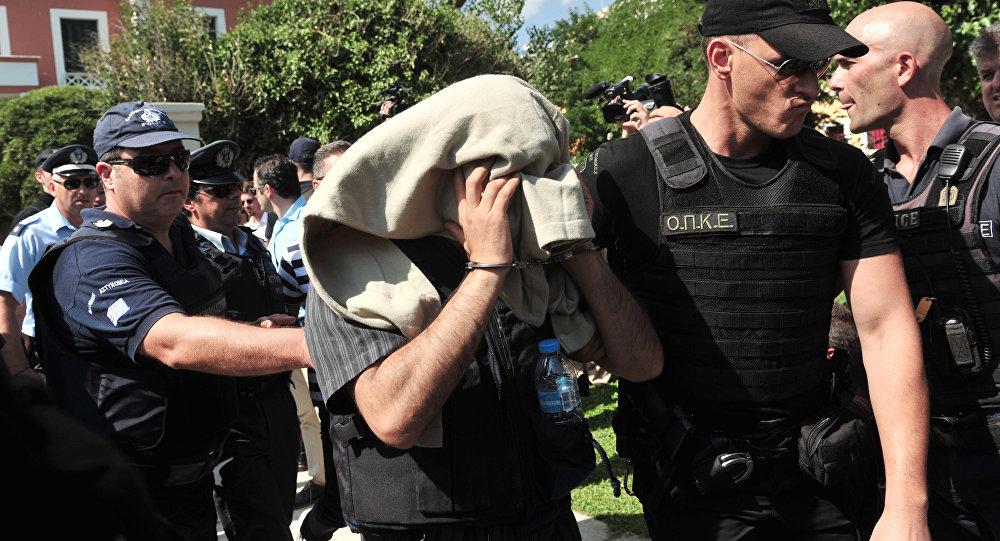 15 Temmuz darbe girişimin ardından Yunanistan'a kaçan Türk askerlerden biri