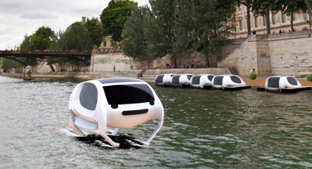 Uçan taksi - Sea Bubble