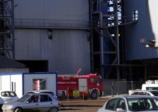 Fabrika'da patlama