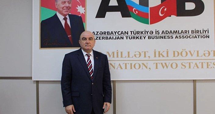 Azerbaycan Türkiye İşadamları Birliği (ATİB) Başkanı Cemal Yangın