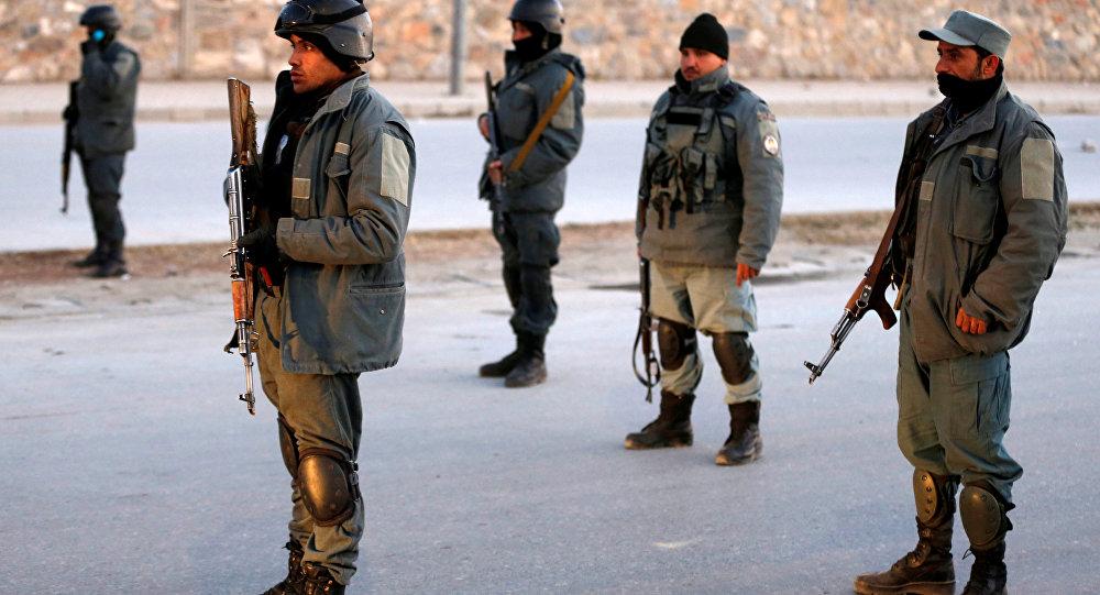 Afganistan polisi