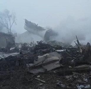 Türk kargo uçağı Kırgızistan'da yerleşim yerine düştü: 37 ölü
