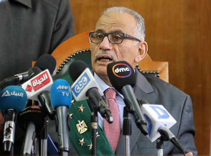 Kararı, Mısır Yüksek İdare Mahkemesi hakimi Ahmed Şazli okudu.