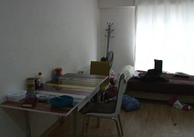 Reina saldırganının yakalandığı ev