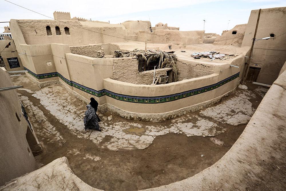 Tebes'in kalbi, eski kent Jandagh hiçbir depremde hasar görmedi.