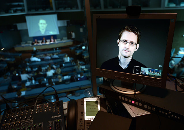 NSA former intelligence contractor Edward Snowden