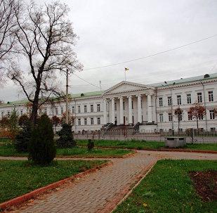 Poltava'daki belediye binası