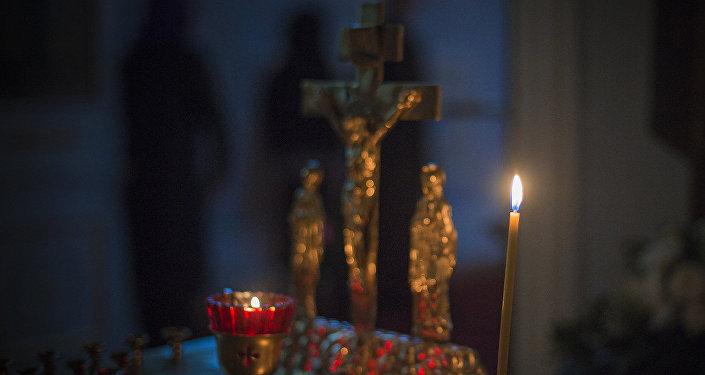 Rusya'da bir cenaze