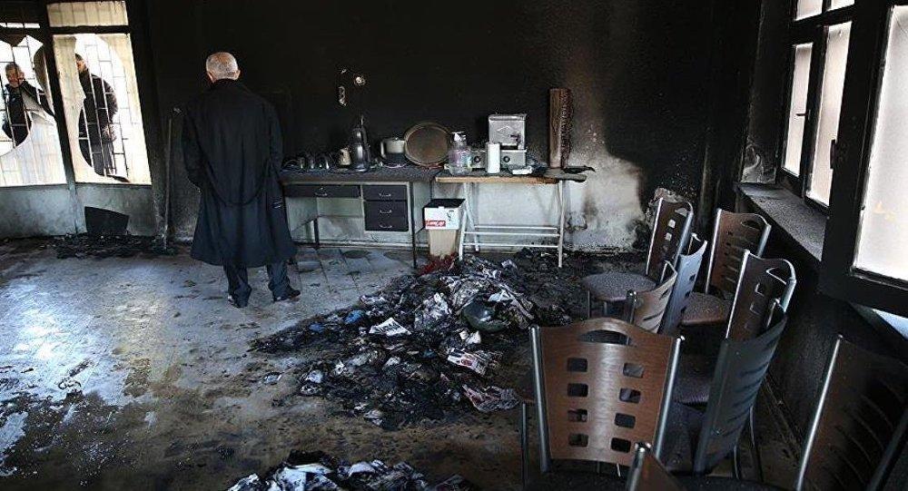 CHP binası saldırı