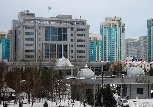 Astana Zirvesi'nin yapılacağı Rixos Hotel