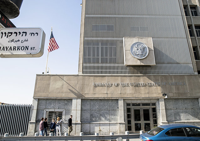 ABD'nin Tel Aviv'deki Büyükelçiliği