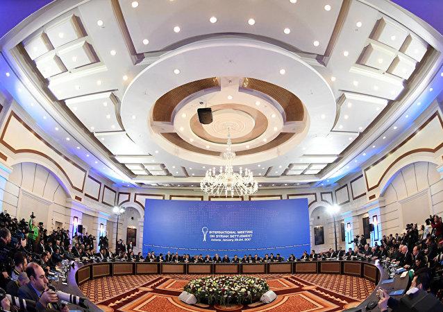 Astana'daki Suriye görüşmeleri