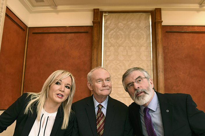 Michelle O'Neill-Martin McGuinness-Gerry Adams