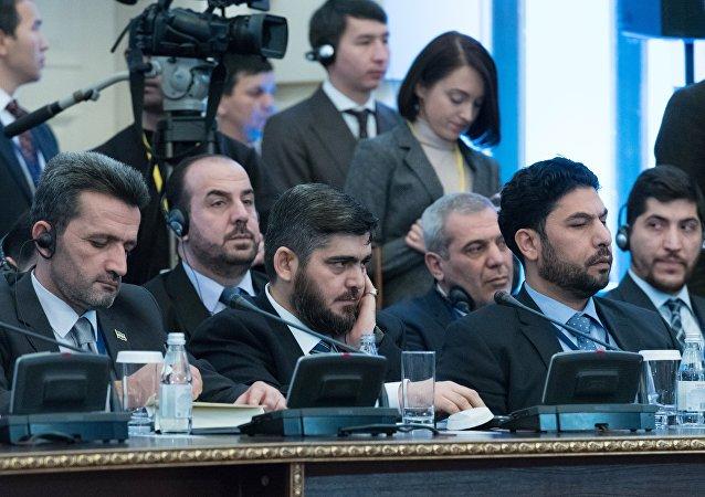 Muhammed Alluş / Astana görüşmeleri