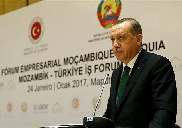 Cumhurbaşkanı Erdoğan, Mozambik'te