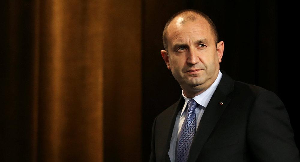Bulgaristan Cumhurbaşkanı Rumen Radev