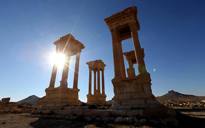 Suriye: Tarihi eserlerimiz en üst düzeyde korunuyor