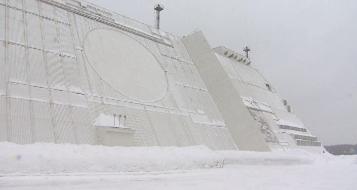 Moskova semalarını koruyan Don-2H radar sistemi