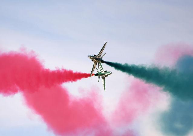 Riyad'da hava gösterisi