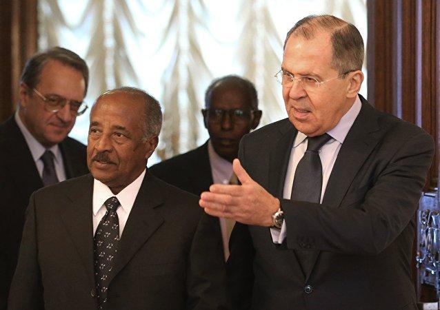 Rusya Dışişleri Bakanı Sergey Lavrov- Eritre Dışişleri Bakanı Osman Saleh
