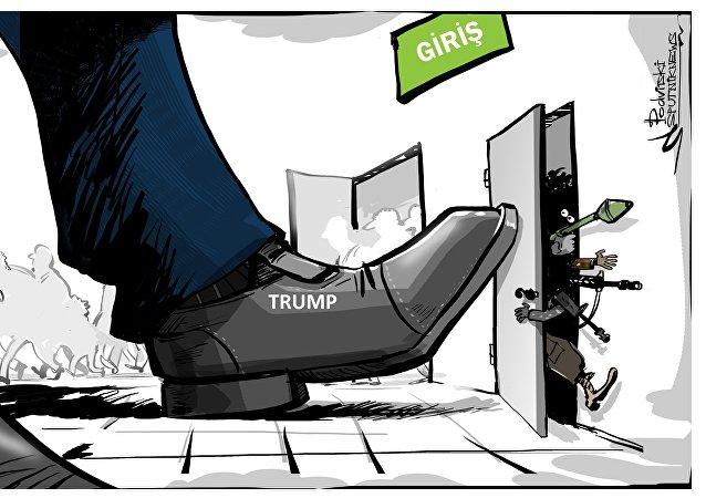 Trump'tan ABD'ye giriş yasağı